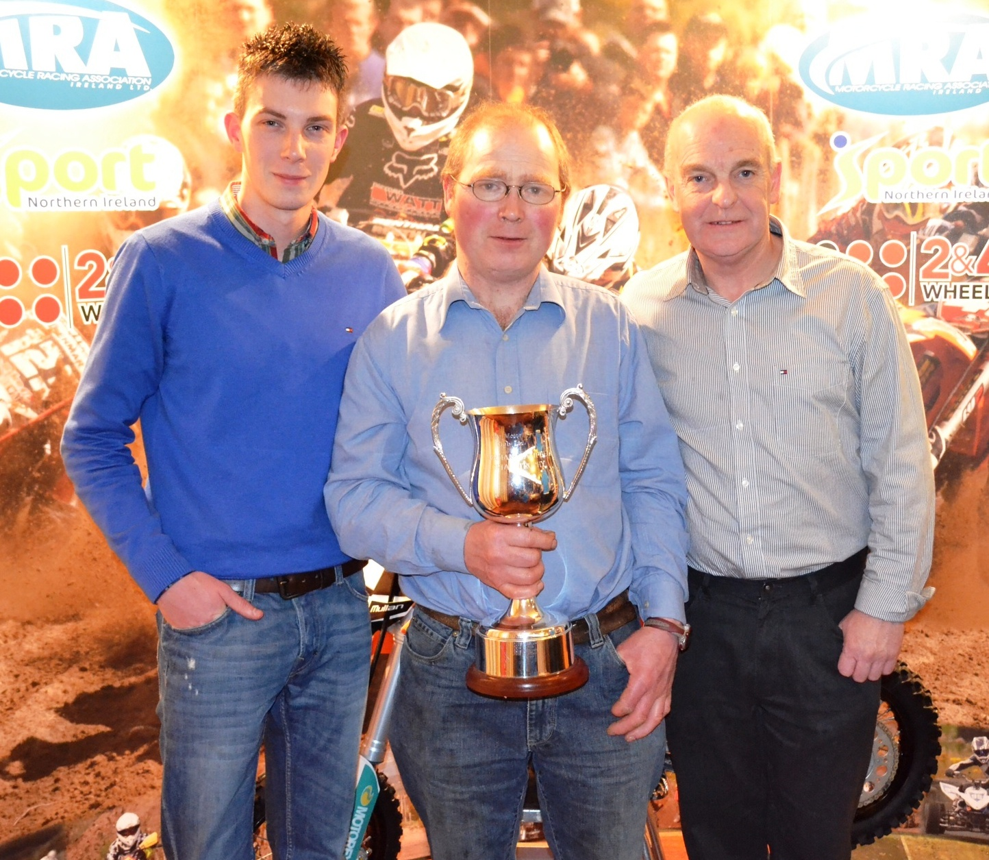 Matthew King (Vice-Chairman), Terry McCann, Billy McLarnin (Chairman)